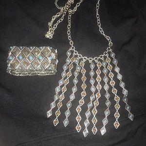 "Premier Designs ""Arizona"" Necklace and Bracelet"